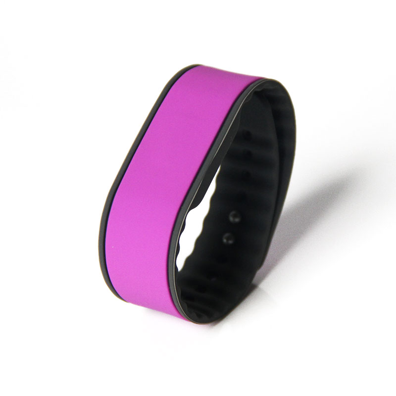 Water Proof ISO18000-6C Alien H3 Silicone UHF RFID Wristband