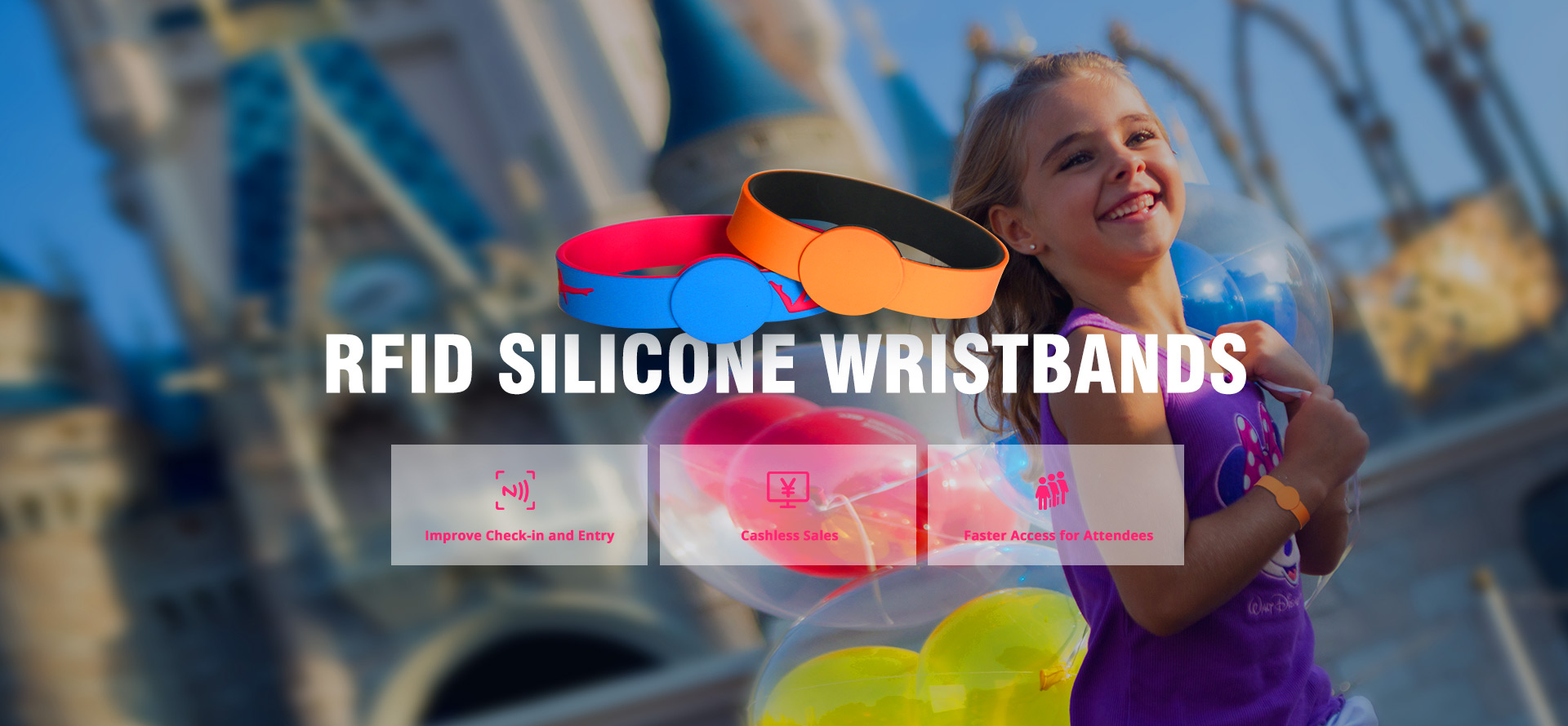 Buy RFID Silicone Wristband Products from rfidsilicone.com