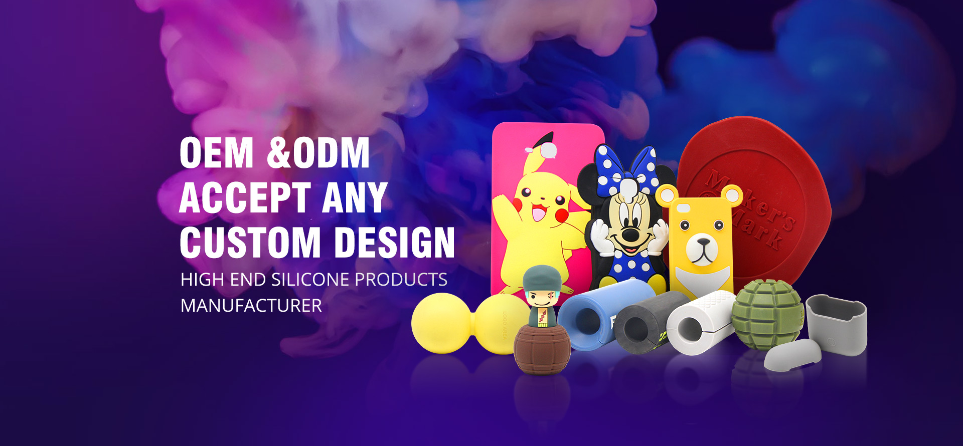 Custom Soft Silicone Products