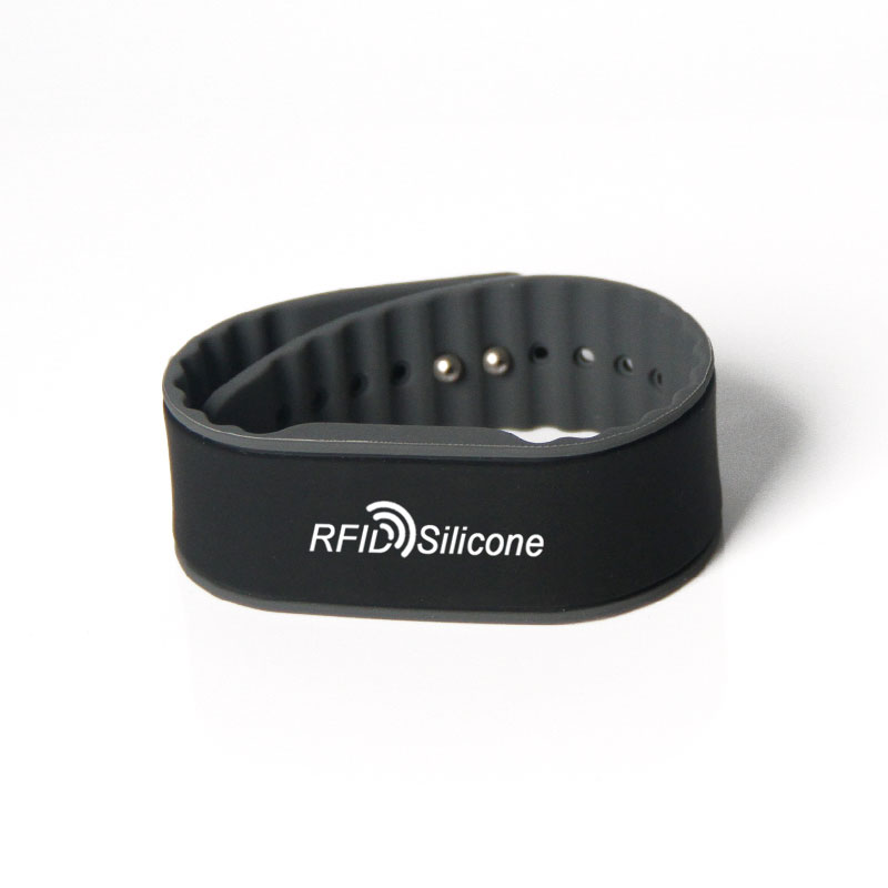Custom Logo Silicone NFC Festival Wristband For Water Park