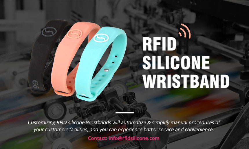 Silicone RFID Wristbands For Events