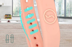 RS-AW010 Adjustable  Silicone RFID Wristbands