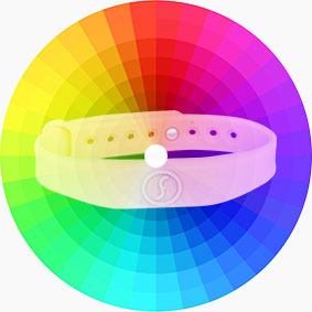 RS-AW010 Silicone RFID Wristbands Colors