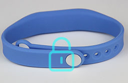RS-AW008 RFID Wristband Silicone With Chip