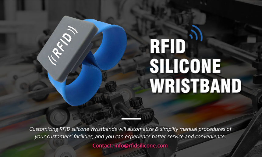 Flexible Slap Silicone NFC Wristband RS-AW046