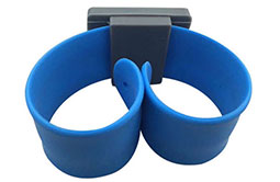 RS-AW046 Flexible Slap Silicone NFC Wristband-3