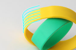 Soft Silicone RFID Bracelet For Event RS-CW022