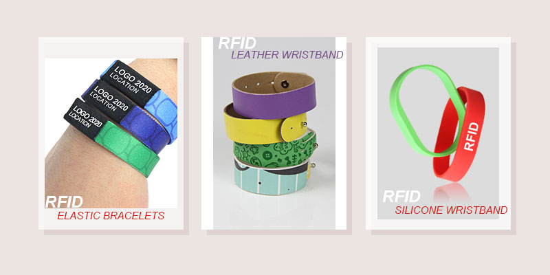 New style RFID wristband tag for events