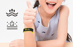 Wearable RFID Silicone Wristband RS-AW011