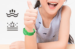 Wearable Magnetic Lock  Silicone RFID Bracelets RS-AW050