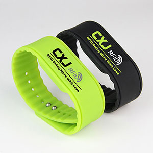 Color Printing Waterproof 3-6 Meter Long Range RFID Bracelet