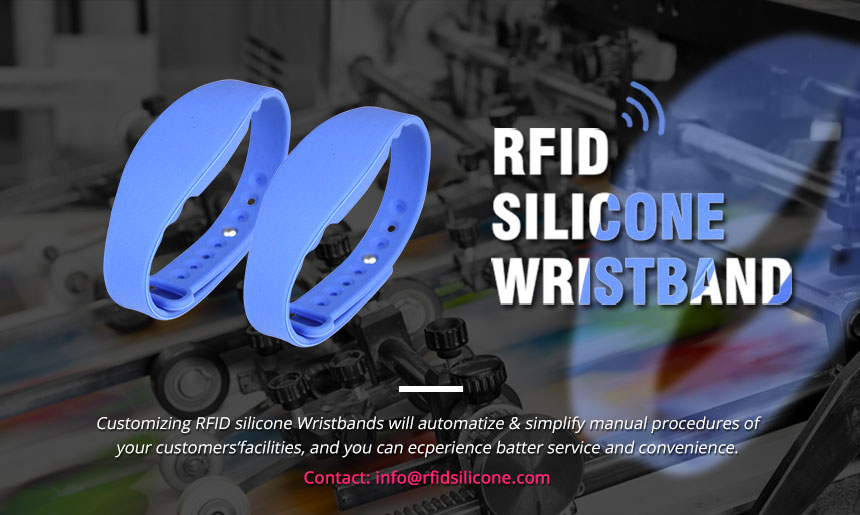 Wholesale MIFARE Ultralight EV1 Silicone Bracelets from RFID Wristband Manufacturer