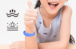 Wearable MIFARE Ultralight EV1 RFID Wristband  RS-AW029