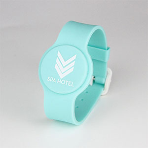 Unique UID Number RFID Wristband Event Silicone Bracelets