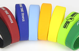 Customized Color Closed type RFID silicone wristbands