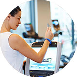 RFID wristband application in fitness clubs